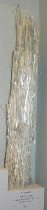 Chrysotile Ore From Quebec