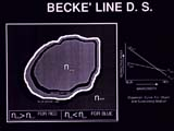 Dispersion Staining, Becke' Line